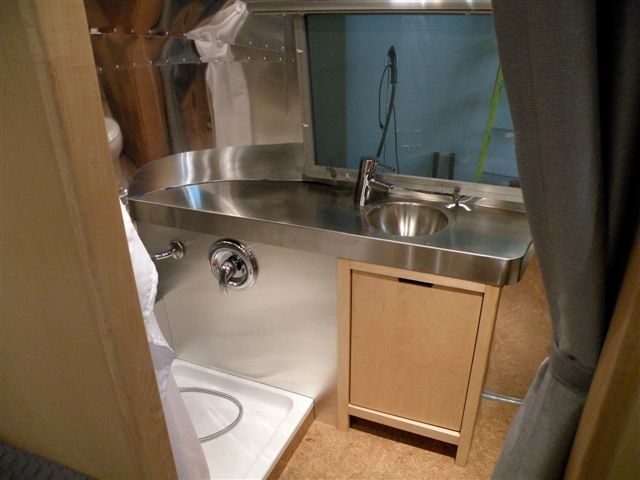 Trailer Bathrooms 106 best airstream bathrooms images on pinterest | airstream