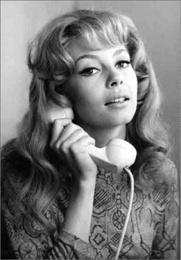 Michèle Mercier 60s 1960 années60 beauté makeup
