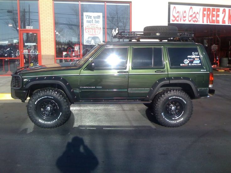 Jeep XJ color, rims, tires