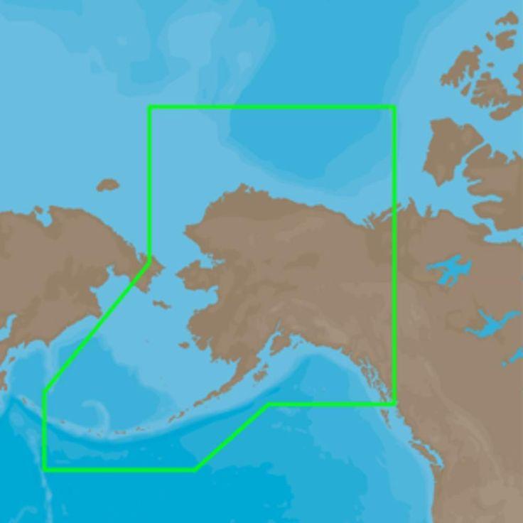 C-MAP 4D NA-D028 - Alaska - Full Content