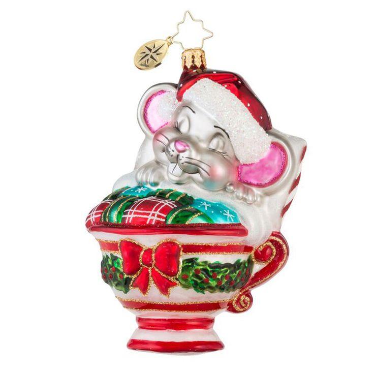 Christopher Radko Ornaments 2015 | Radko Maxwell Mouse Ornament