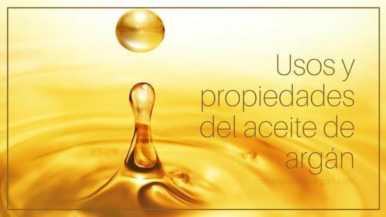 Usos y propiedades del aceite de argán