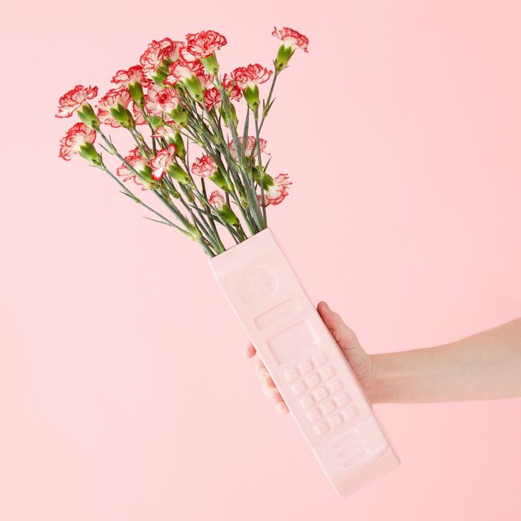 The Gift: A ceramic pink phone vase.The Giftee: The long-distance pal who lives on the opposite coast, but you know you can call any time (and we mean, any time).Wyatt Little Pink Ceramic Phone Vase, $90, available at Ban.do. #refinery29 http://www.refinery29.com/cool-gifts-for-difficult-people#slide-19