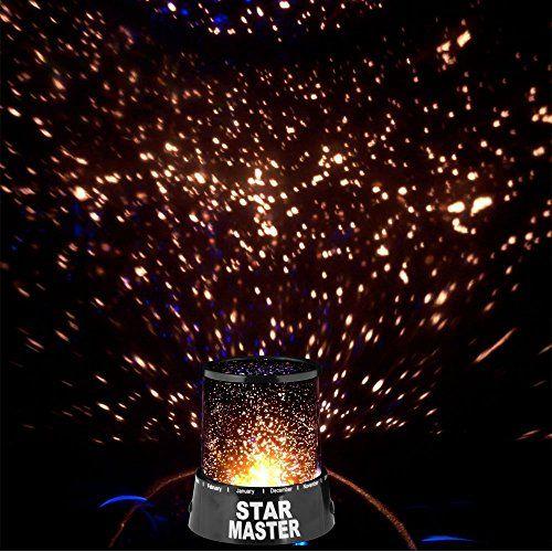 Inspirational OYMMENEY LED Lampe Sternenhimmel Projektor Einschlafhilfe Himmel Projektor Sterne Nachtlicht Sternenlicht Dekoration Geschenk OYMMENEY http