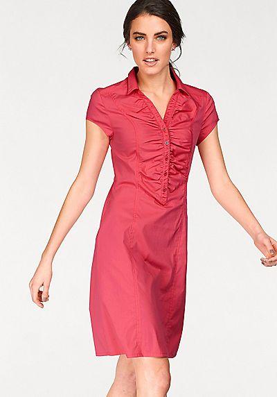 Tamaris Hemdblusenkleid online bestellen Bei BAUR bestellen - Werbung  #Fashion #Mode #Hemdblusenkleid #Hemdkleid #Blusenkleid #Kleid #Kleidung #Klamotten