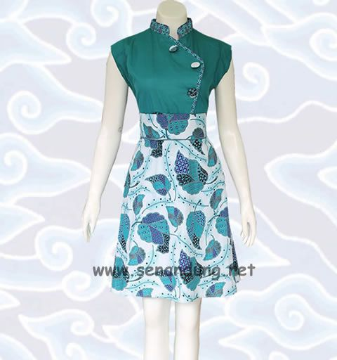 batik dress modern - Google Search
