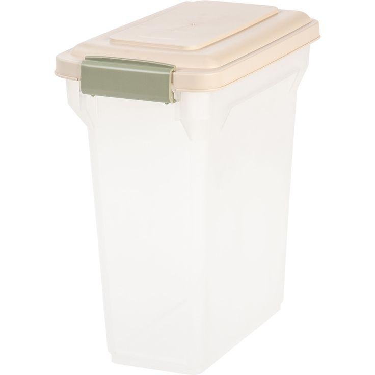 Iris 15 Quart Airtight Pet Food Container