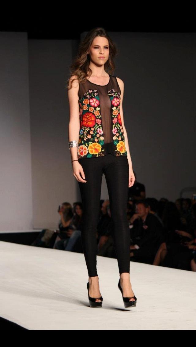 Fernanda Melo, Miami International Fashion Week 2012