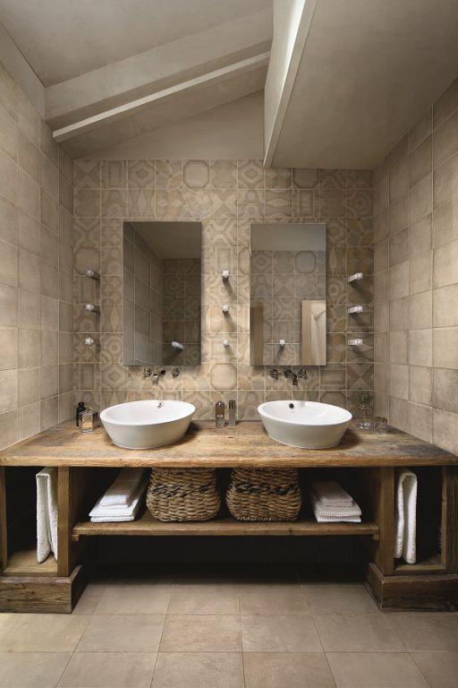 Bathroom Wall Tiles. Japanese Spa Inspired. Soft Grey. DECOR LIBERTY AMBRE (200X200) CRMWP1005. National Tiles