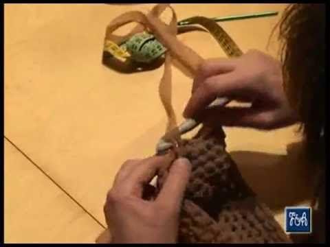 ▶ CORSO BASE per BORSE a FETTUCCIA - YouTube