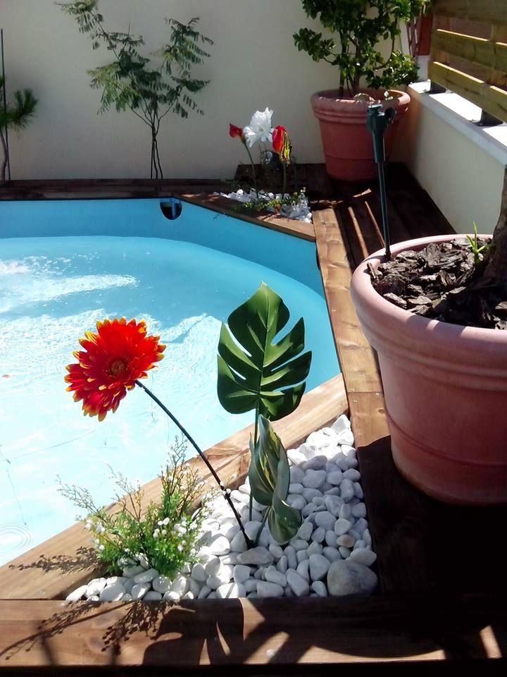 Las 25 mejores ideas sobre piscinas de plastico en for Piscinas de madera leroy merlin