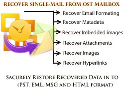 Authentically Repair data from OST file and Recover OST to PST.  READ MORE- http://www.ostpsts.com