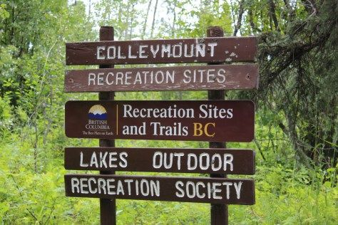 Visit one of the many FREE recreation sites in the Lakes District #visitburnslake