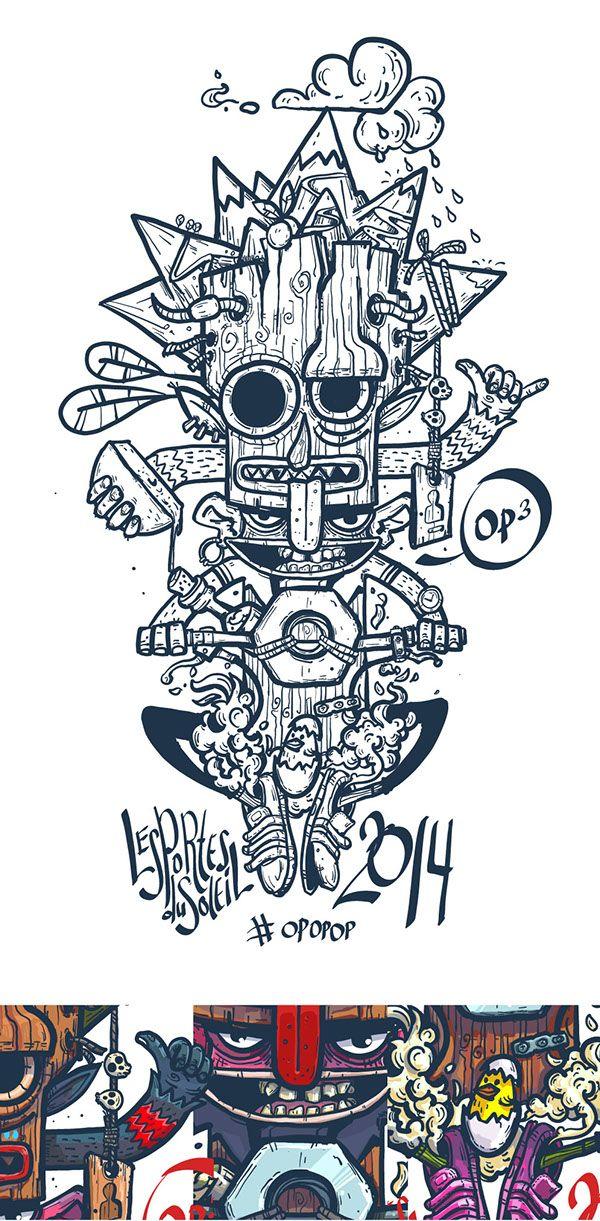 Dibujos de locos