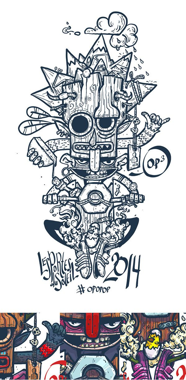 Print for t-shirt PDS 2014 on Behance by Konstantin Anufriev, Moscow, Russian Federation ı Digital Art ı Illustration ı Draw ı