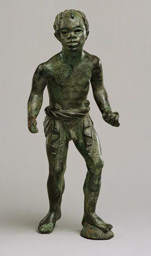 Statuette of an African (known as Ethiopian)[Greek] (18.145.10)   Heilbrunn Timeline of Art History   The Metropolitan Museum of Art