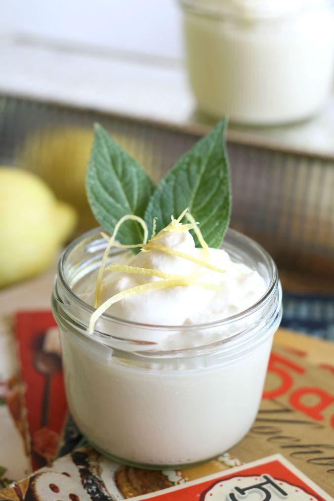 Wir Ueben Das Nichtstun Und Essen Zitronen Panna Cotta Fraeulein Cupcake