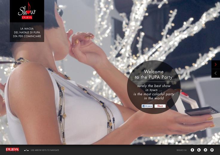 PUPA Show teaser website.