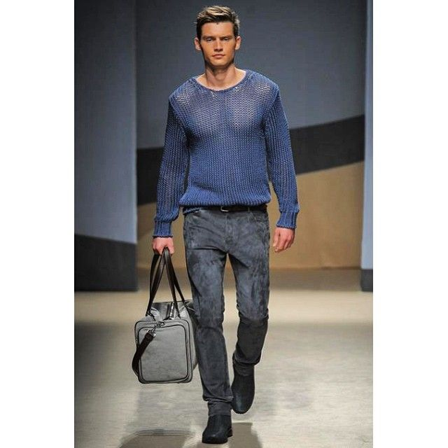 Sheer sweater | Catwalk - Men's Style | Pinterest | Posts, The o ...