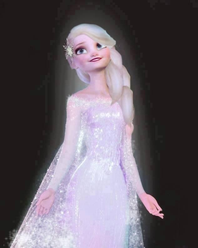 Elsa S For Her Wedding With Jack Frozen Jelsa
