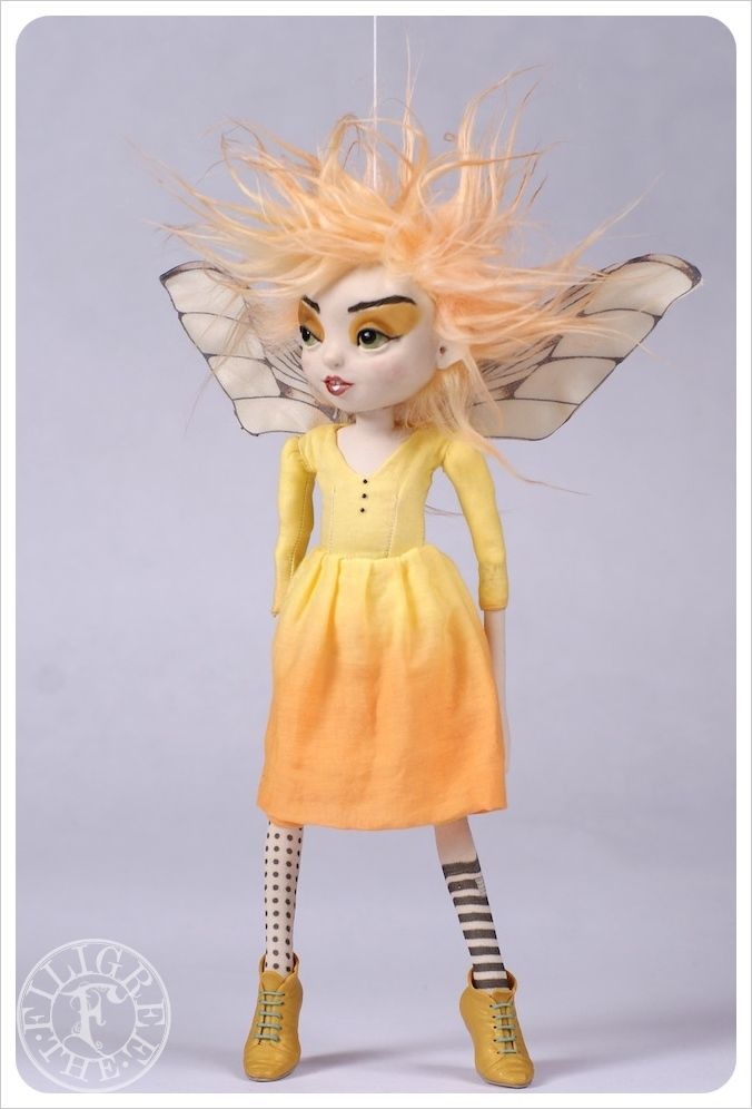 Image of SOLD~ Fairy Lillian ~ by the Filigree