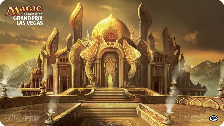 CCG Playmats 183464: Grand Prix Las Vegas Playmat City Of Brass Judge 2013 Magic The Gathering Mtg -> BUY IT NOW ONLY: $99.99 on eBay!
