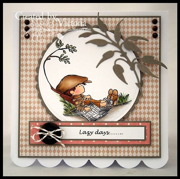 Vixx Handmade Cards: . Lili of the valley stamp
