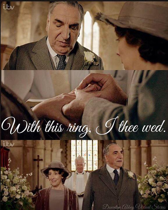 ❤️ Carson and Mrs Hughes