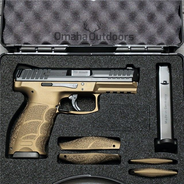 H&K HK VP9 9mm 15RD Burnt Bronze  Semi Auto Pistols --I want $769.00