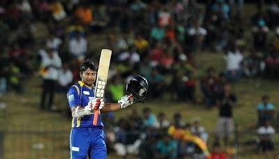 Kumar Sangakkara's 14th ODI hundred