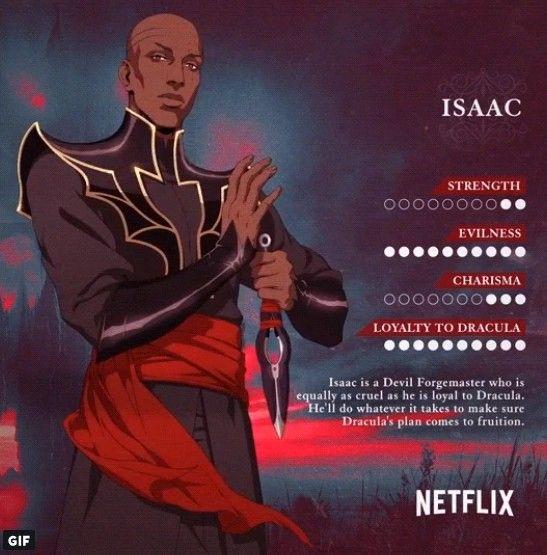 Castlevania Season 2 Isaac's stats | Castlevania in 2019 | Netflix