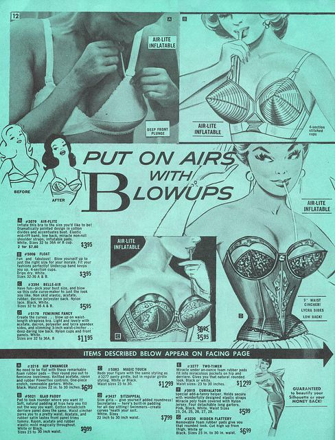 frederick's of hollywood, inflatable bras