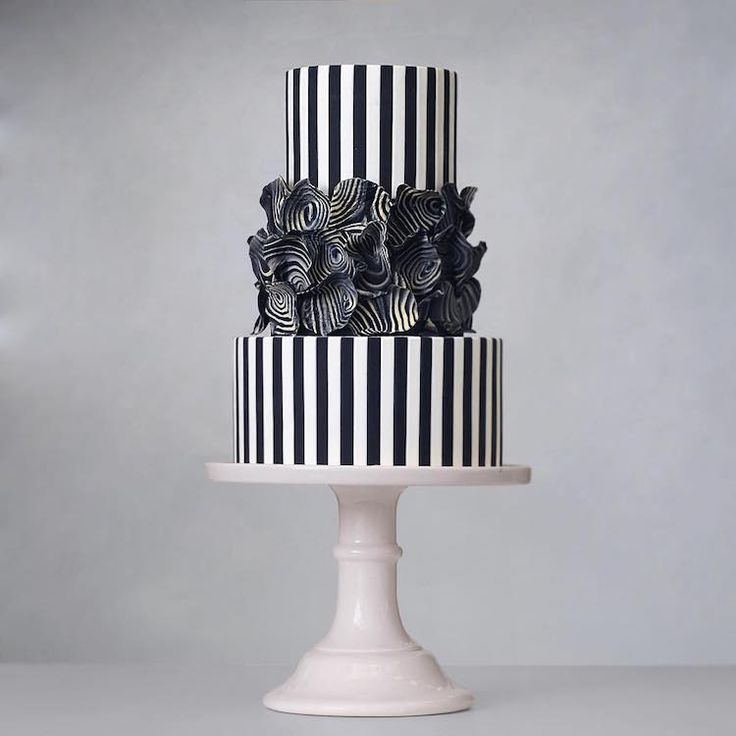 Elegant Towering Cakes Inspired By Architecture And Fine Art