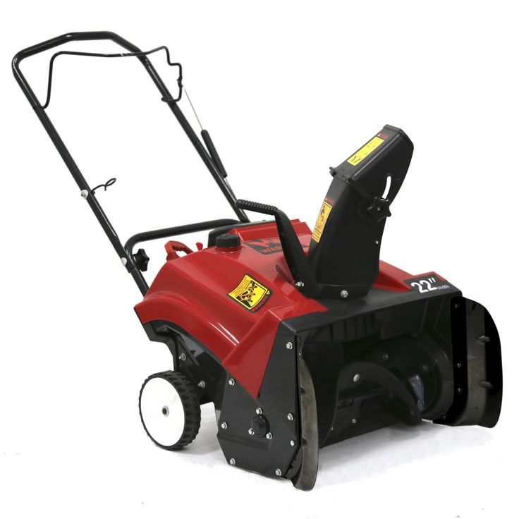 Warrior Tools WR67436N 196cc 22-inch Single Stage Hand Push Snow Blower