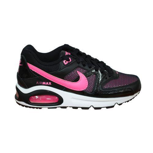 NIKE AIR MAX COMMAND (GS) black/pink De Nike Air Max Command is een sportieve schoen voor dames.