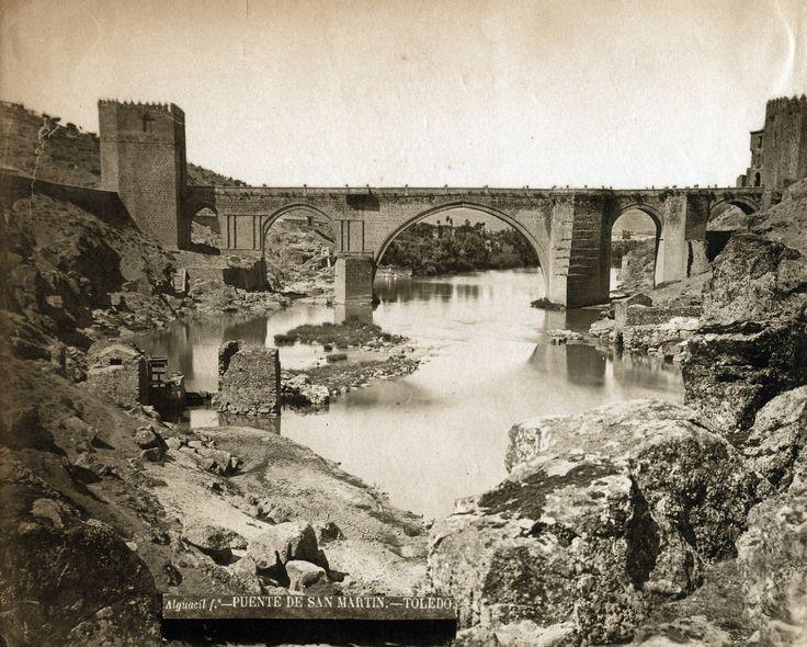 Casiano Alguacil - Bridge of San Martin, Toledo, 1875