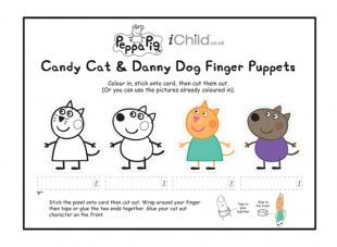 <p>These Peppa Pig finger puppets are a great craft template for your child to have fun playing with! Look out for our Peppa Pig puppet theatre activity too, so your child can create their own puppet shows! Please ensure ALL cutting out is performed with an adult!</p>