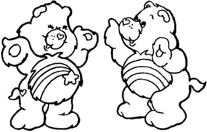 wish bear coloring pages - photo#20