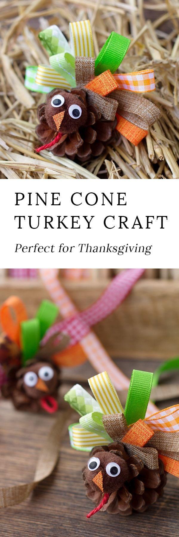 How to Make Scrap Ribbon Pine Cone