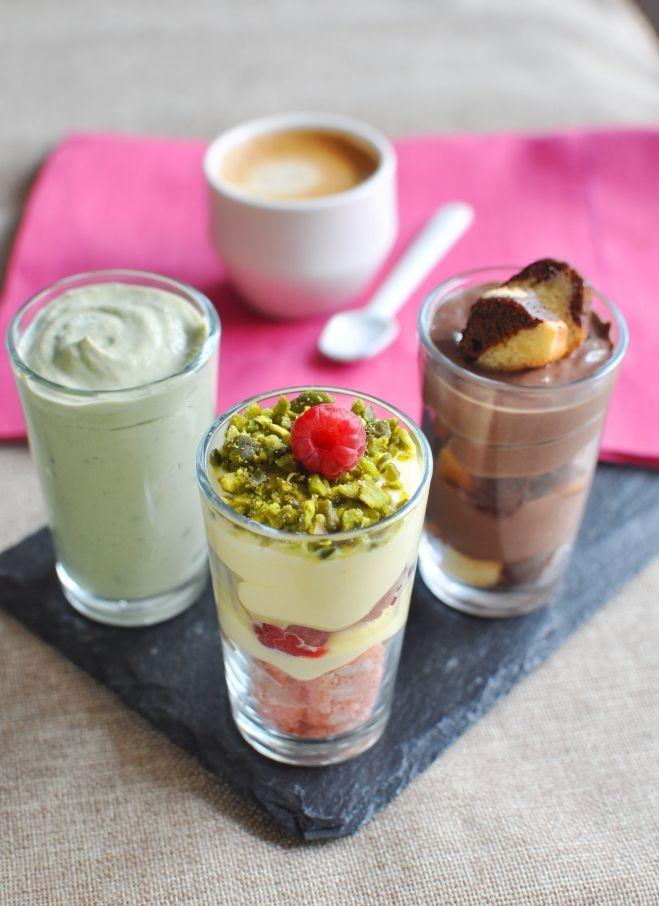 Recette  Verrines Mascarpone façon Café gourmand