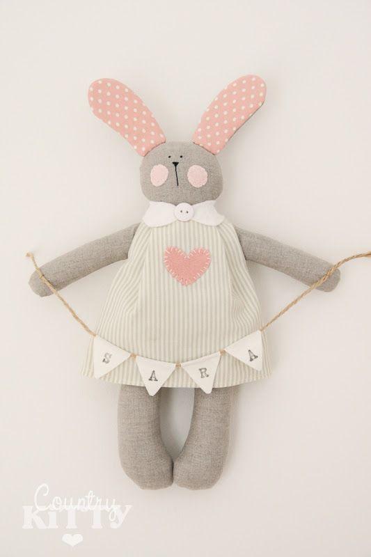 Coelhinha/rabbit  De/from Countrykittyland
