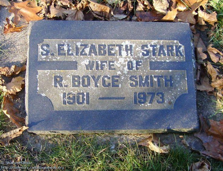 ON: Gore / Clanbrassil / Dufferin Cemetery (S. Elizabeth STARK), CanadaGenWeb's…
