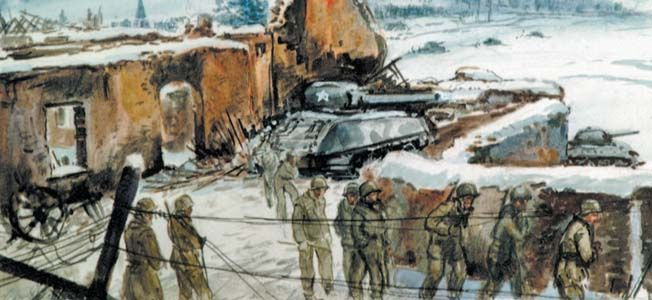 Battle of the Bulge Inside, you'll find stories of heroism and hardship as American valor blunted Hitler's last great counteroffensive.