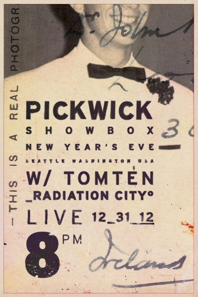 #PICKWICK New Year's Eve #Design for Young Moderns