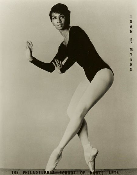Joan Myers Brown *she made history as one of the first black dancers in a white company*