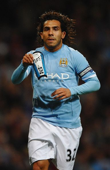 Carlos Tevez Pictures - Manchester City v Liverpool - Premier League - Zimbio https://www.facebook.com/FootballerDirect