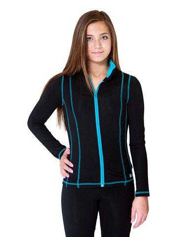 Girls #Yoga Jacket #fashion #dance #sport #JillYoga