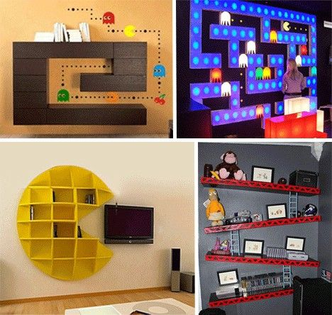 Video game themed Game Room. Boys would love it!