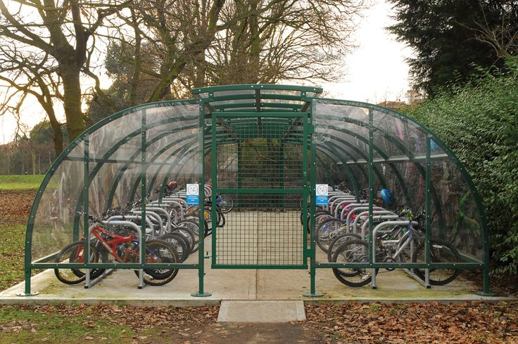 Wardale Compound CycleParking Bicycle Cycle Shelter