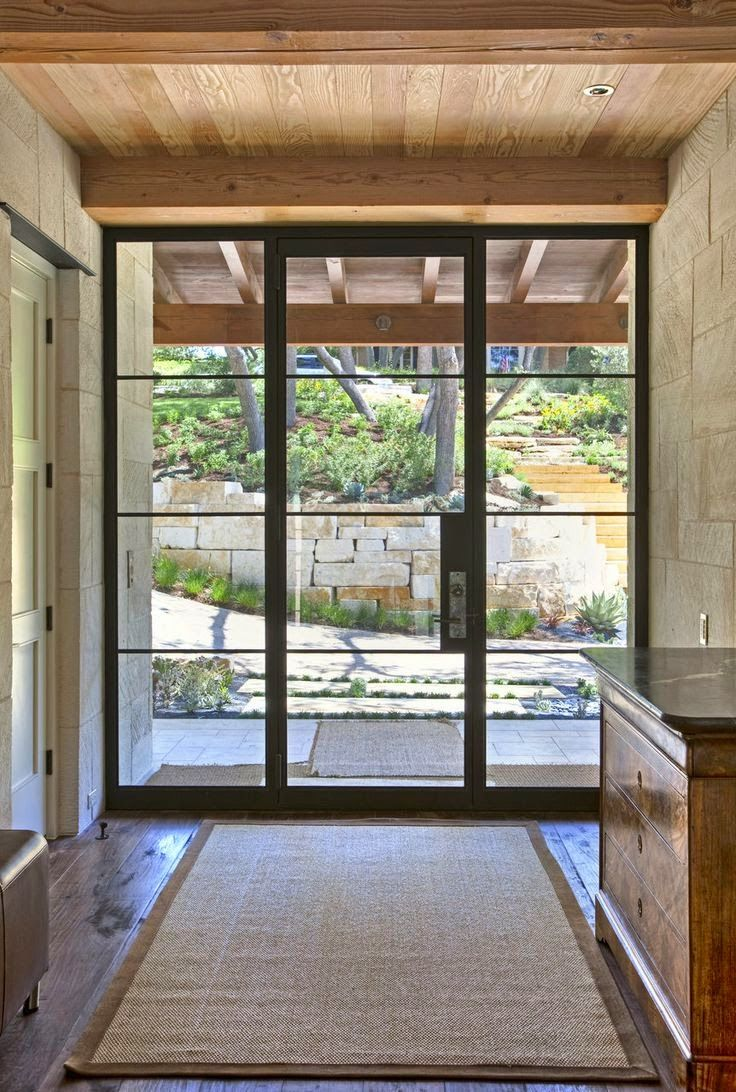 25 best ideas about traditional front doors on pinterest for Front doors that let in light